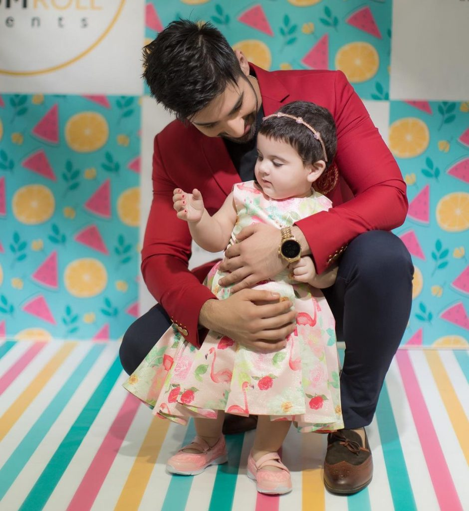 Muneeb Butt Shares Adorable Pictures With Amal Muneeb