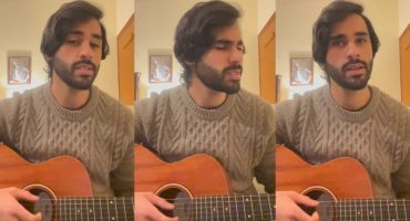 Ameer Gilani Singing Song Is All You Need To See Today