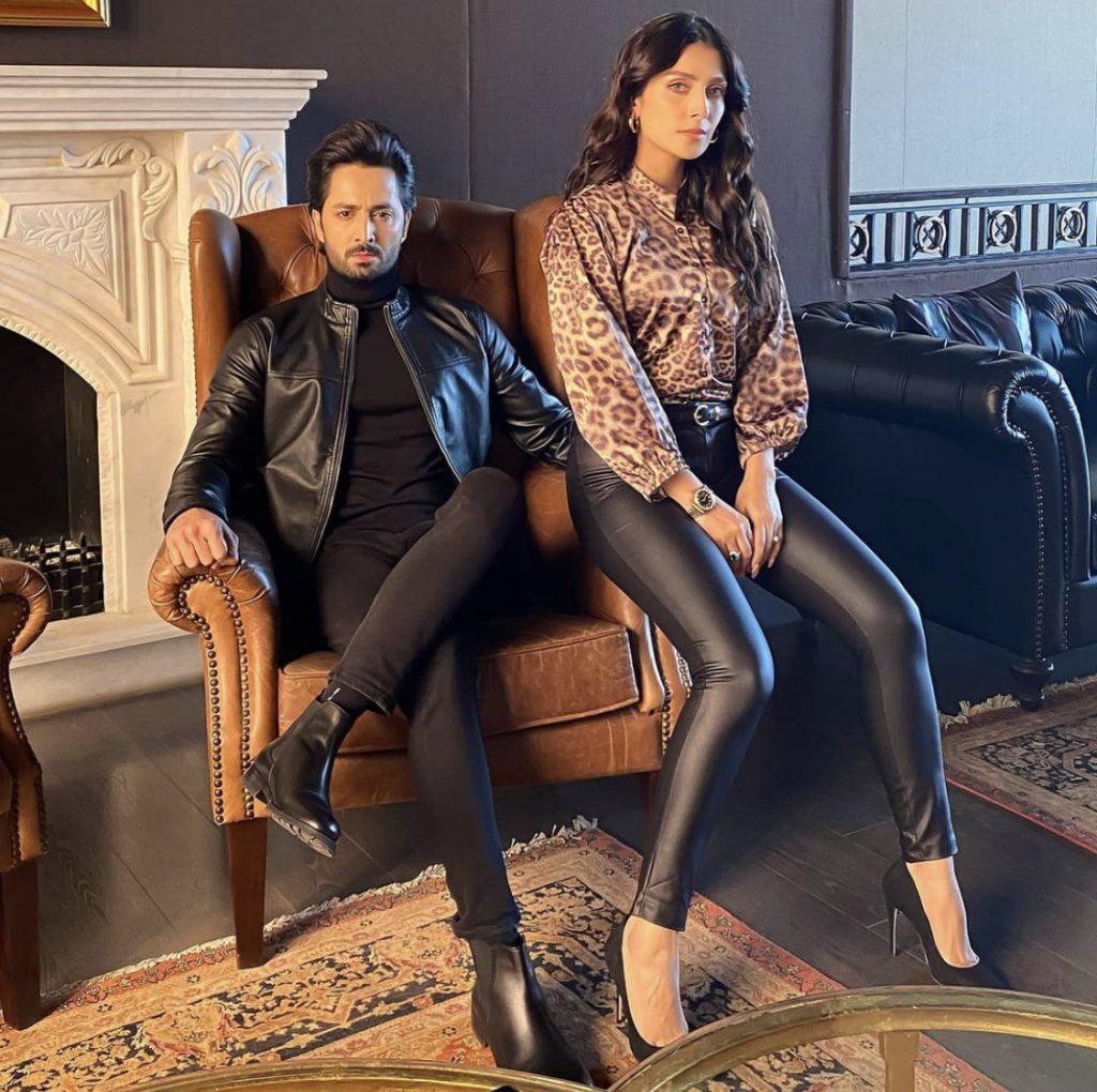 Latest Couple Pictures Of Ayeza Khan And Danish Taimoor