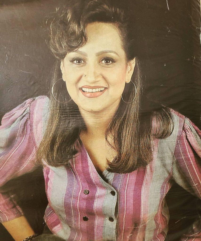 Bushra Ansari Shares Throwbacks With Family And Friends