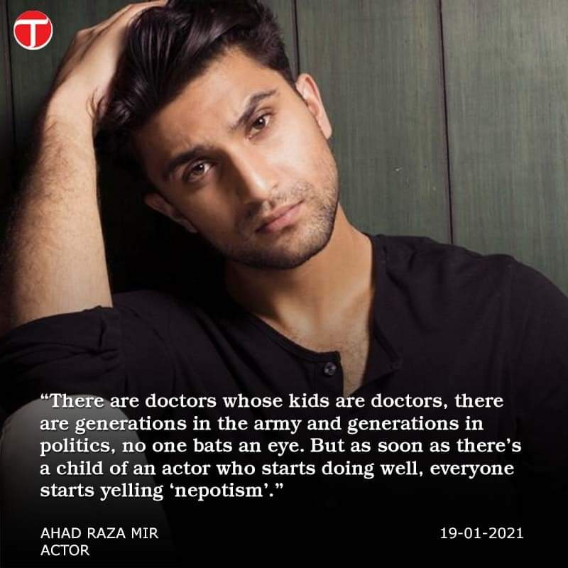 Netizens Disagree With Ahad Raza Mir on His Recent Statement