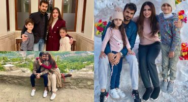 Faiza Saqlain Vacationing With Family