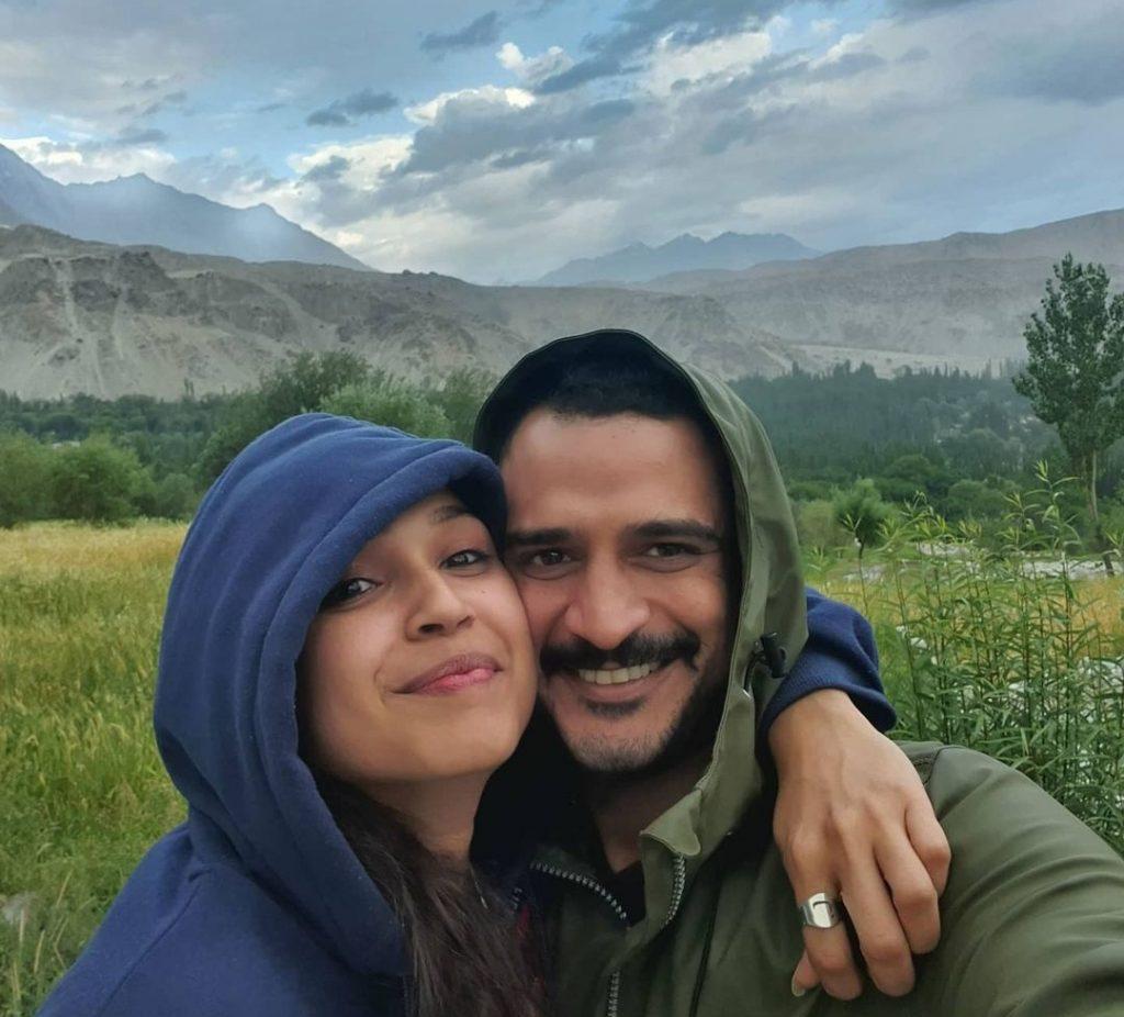 Faryal Mehmood Wished Birthday to Husband Daniyal Raheel