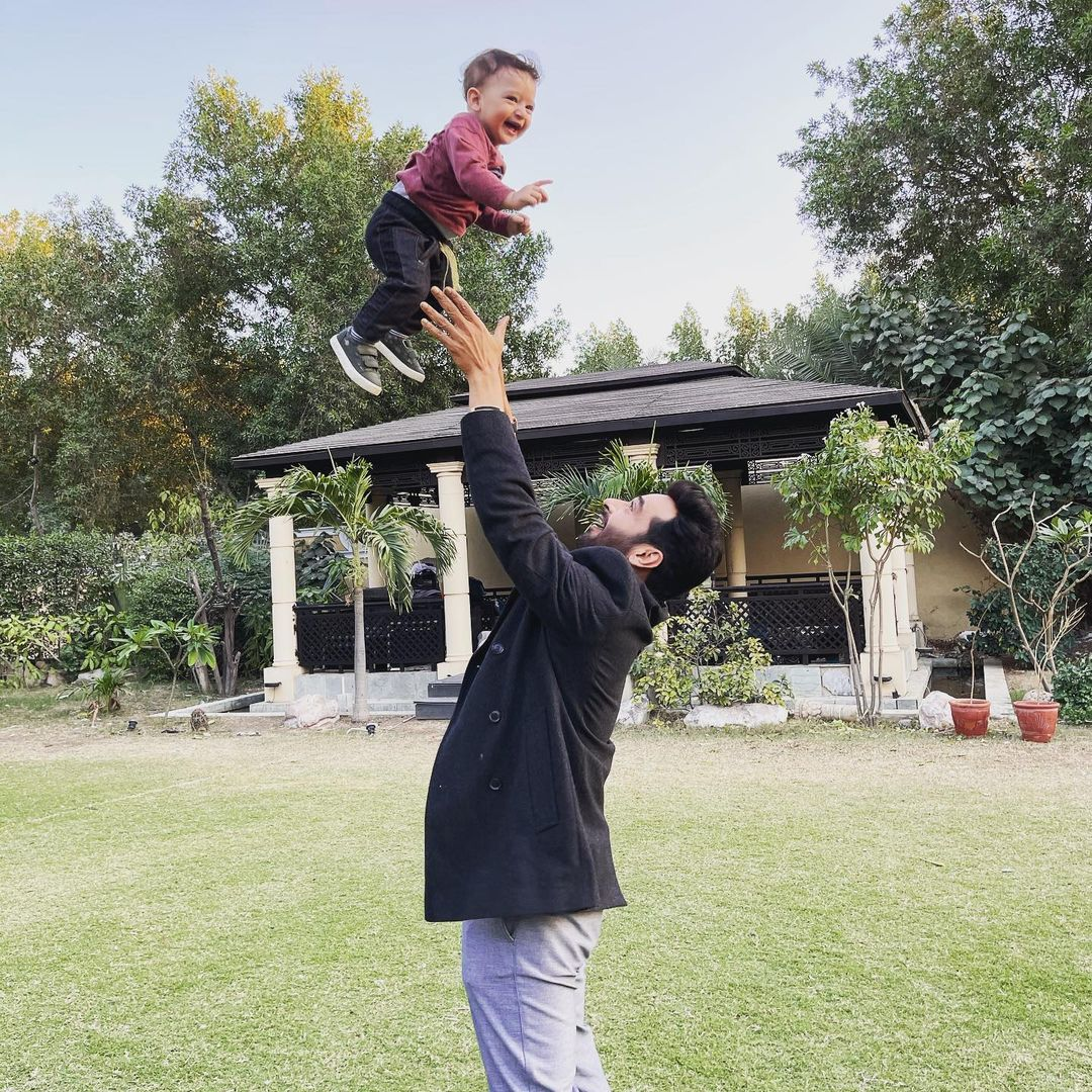 Faysal Qureshi Son Farman Qureshi Pre Birthday Pictures