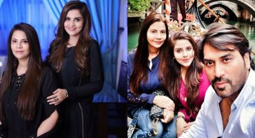 Latest Glimpse of Samina Humayun Saeed With Her Family