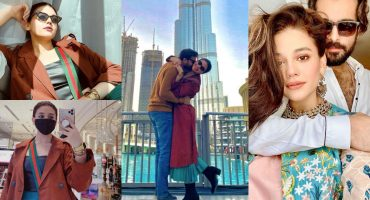 Zara Noor Abbas and Asad Siddiqui in Dubai - Latest Pictures