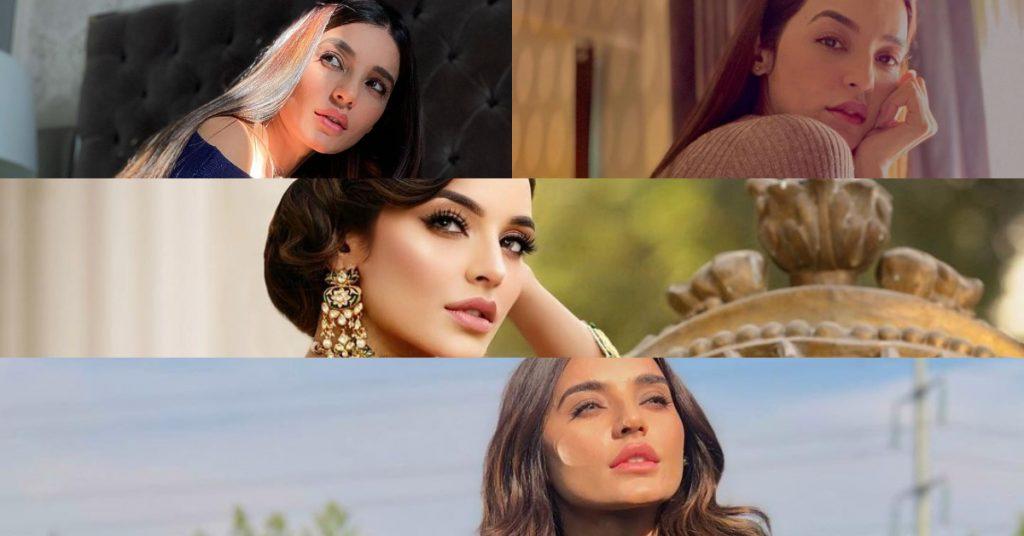 Signature Poses of Sadia Khan