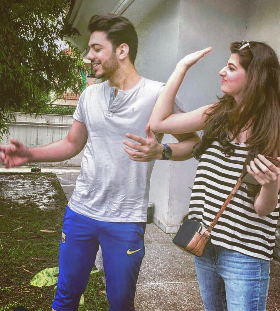 Goher Mumtaz And Anum Goher Pictures Together