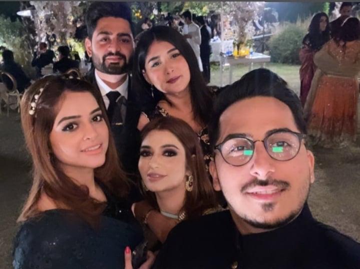 Hanish Qureshi Looks Stunning At Her Friend's Wedding