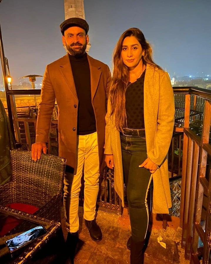 Cricketer Muhammad Hafeez Daughter Eman Birthday Pictures