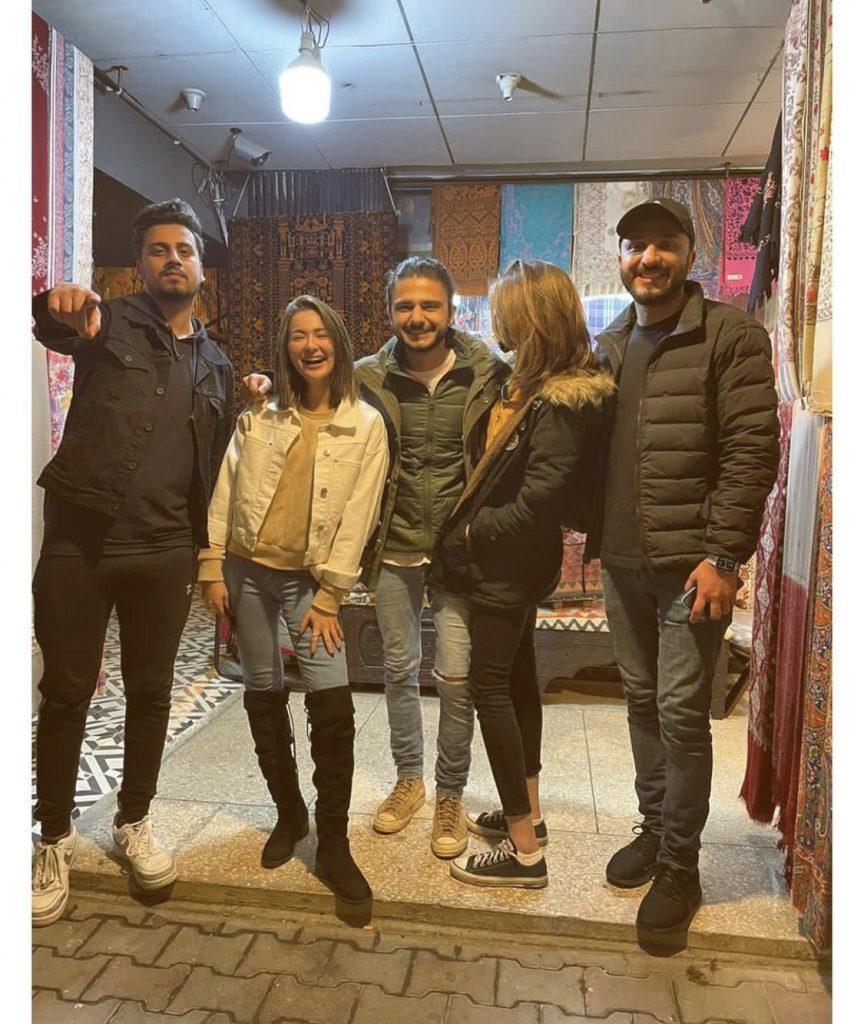 Hania Amir Enjoying With Her Friends