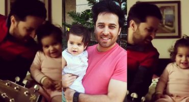 Haroon Shahid Jamming With Daughter - Adorable Video