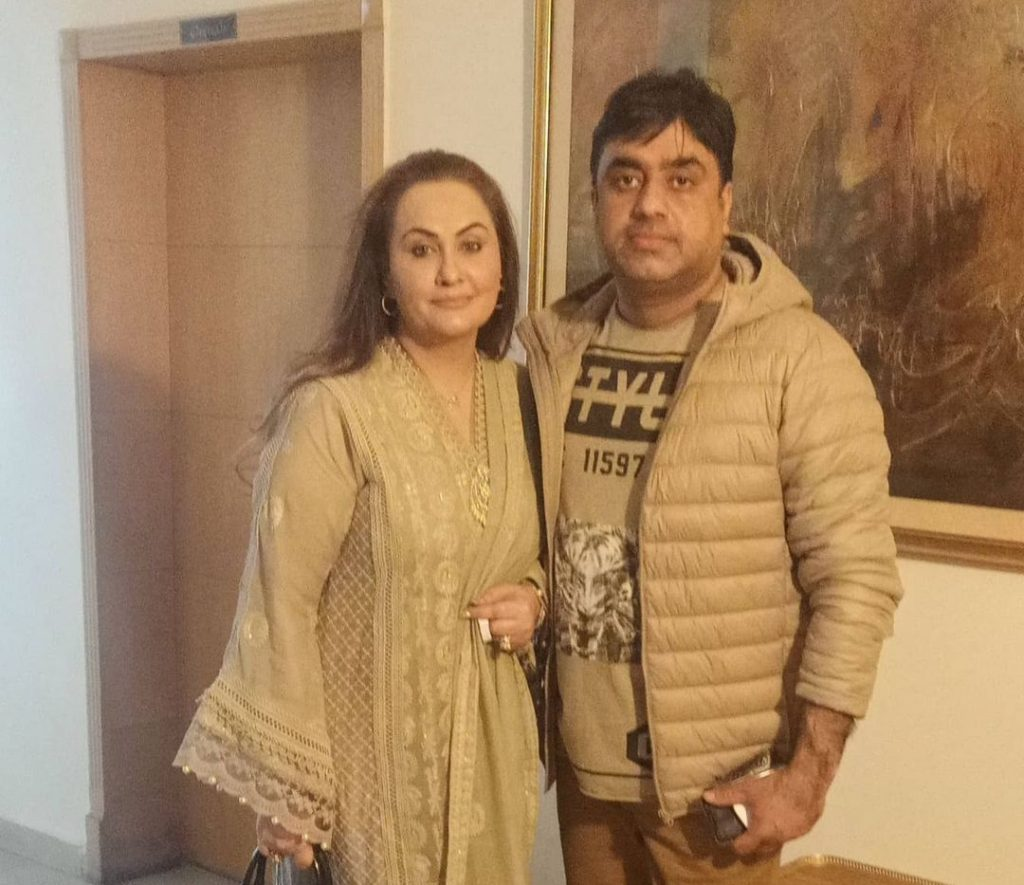 Filmstar Nargis Pictures With Husband