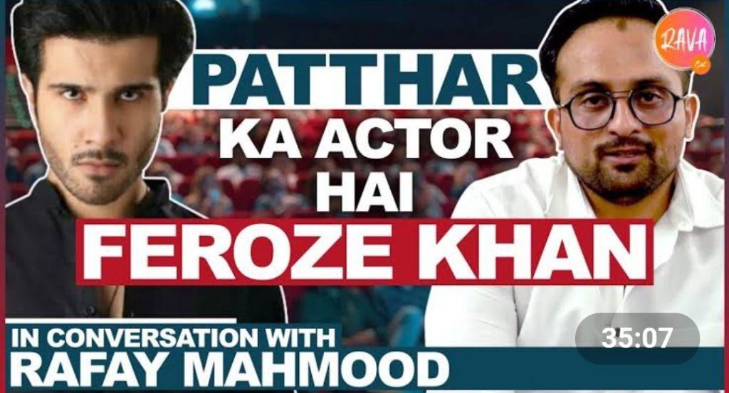 Feroze Khan Criticized By Journalist Rafay Mehmood