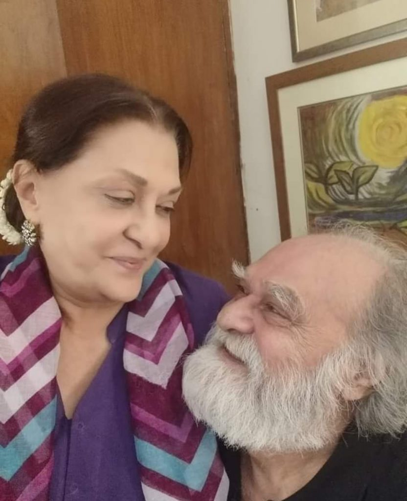 Manzar Sehbai Shared Beautiful Picture With Samina Ahmad