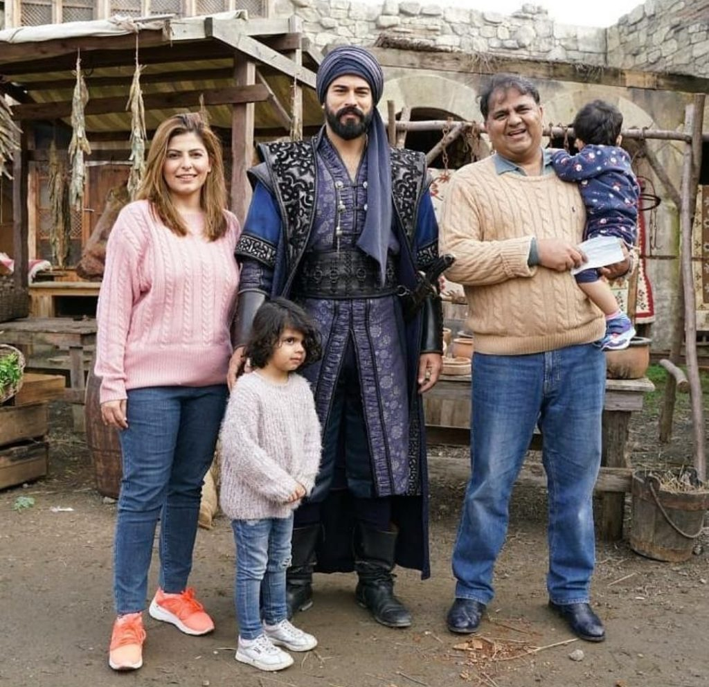 Fawad Chaudhry Meets Burak Özçivit Aka Kurlus Osman