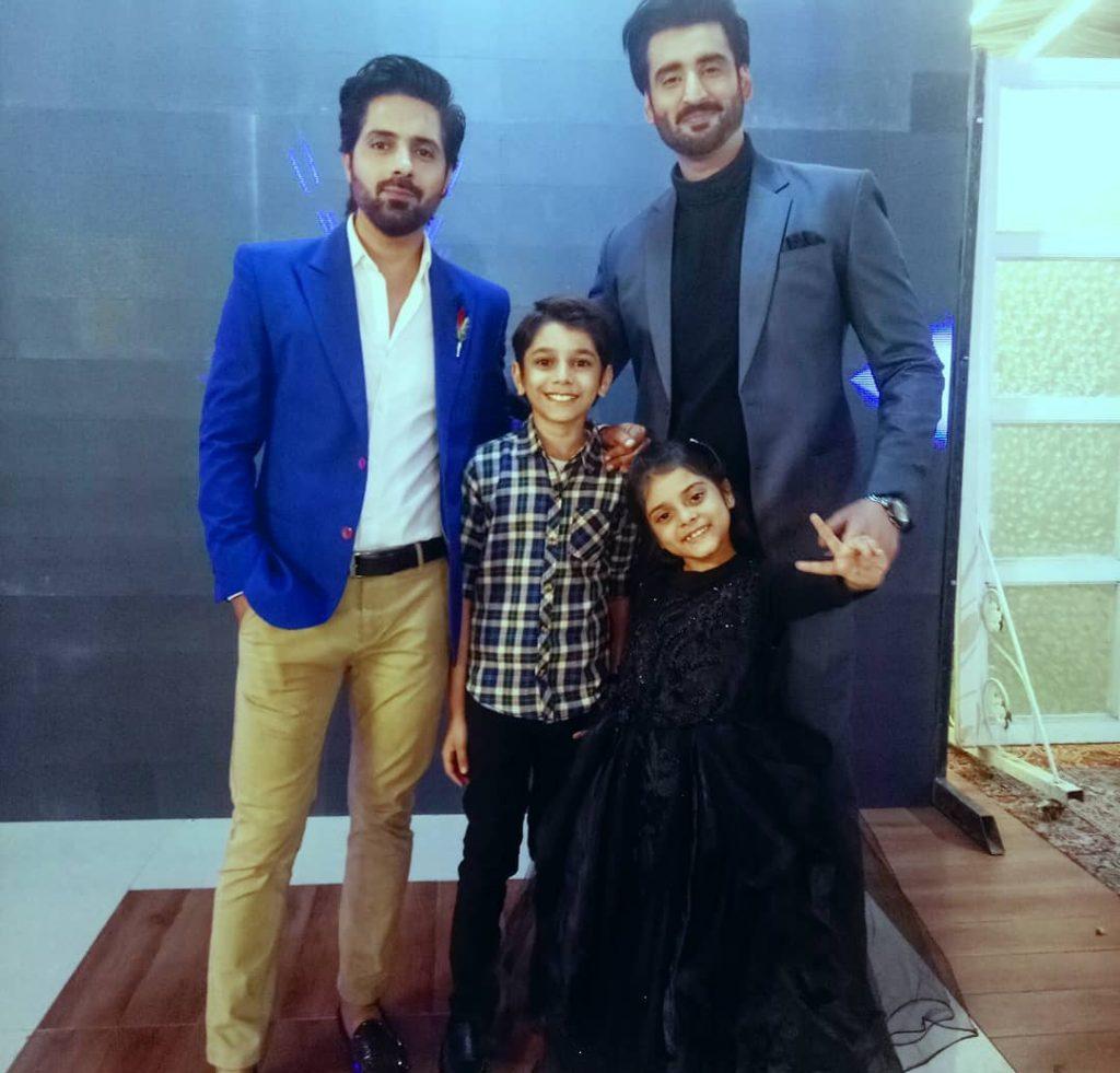 Agha Ali , Nimra Khan and Asim Mehmood Coming Together