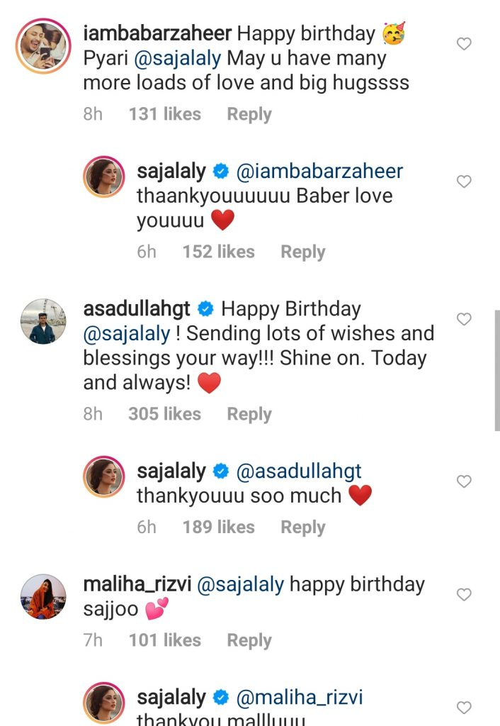 Ishaan Khattar Joins Sajal's Birthday Post To Wish Her