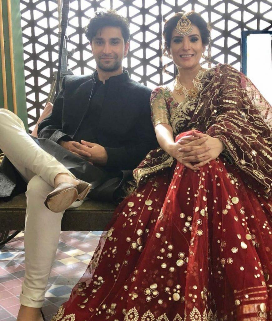 Resham Cherished Working With Ahad Raza Mir