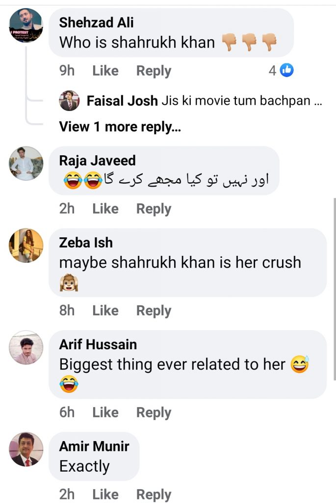 Netizens Criticised Mahira Khan on Discussing Shahrukh Khan in Every Interview