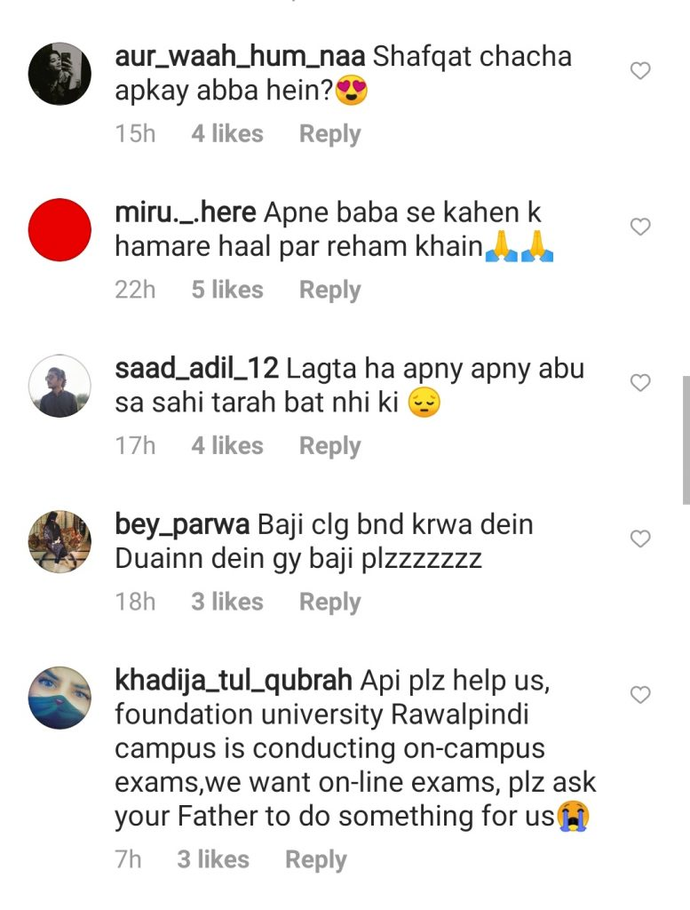 Students' Funny Demands From Tara Mehmood Will Make you Laugh