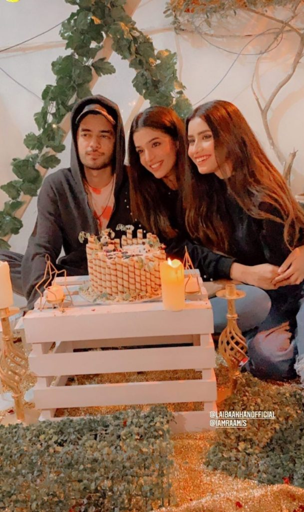 Laiba Khan Celebrates Her Birthday With Friends