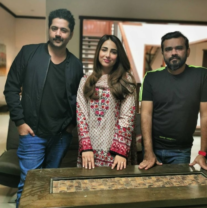 Ushna Shah And Imran Ashraf To Appear In A Project Together