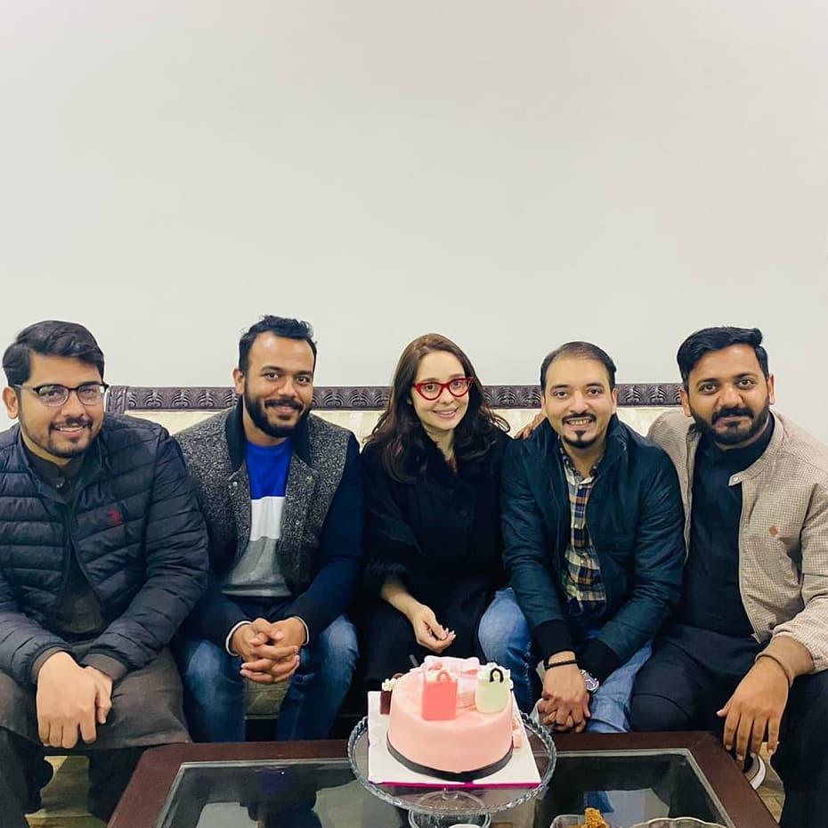Juggun Kazim Received Surprise Birthday Party
