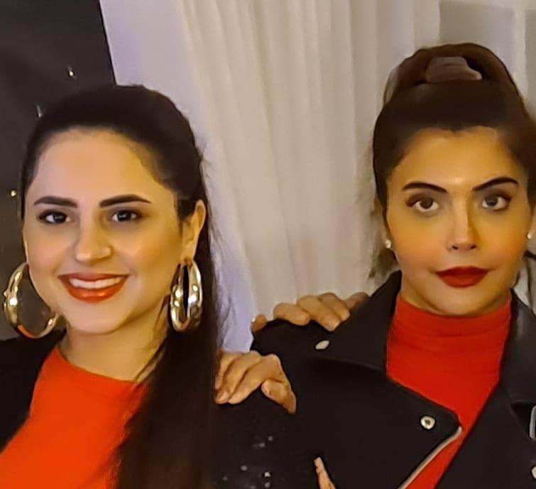 Kanwar Arsalan And Yasir Nawaz Celebrating New Year With Their Wives At The Forest Restaurant