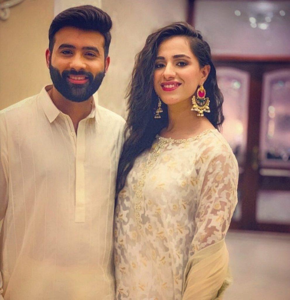 Maham Amir With Husband Faizan Sheikh