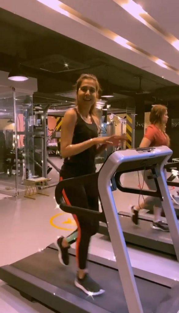 Mansha Pasha Gives Fitness Goals