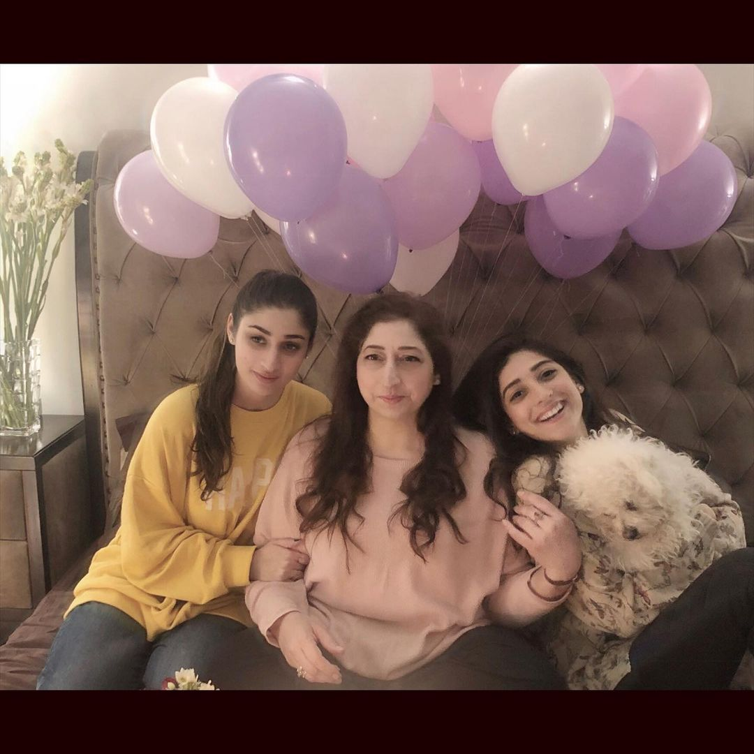 Actress Mariyam Nafees Mother Birthday Pictures