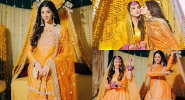 Mawra Hocane Looked Ravishing At Her Friend's Mayoun