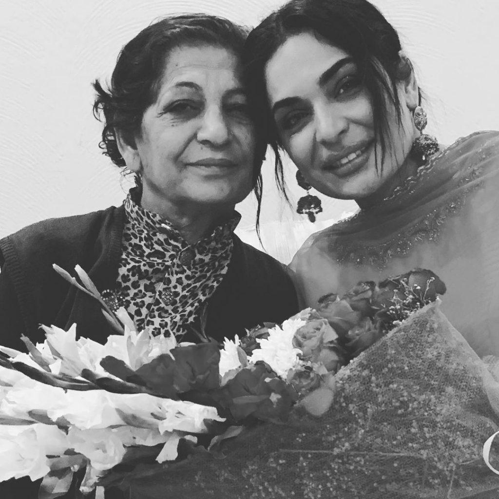 Meera Celebrated Her Mother's Birthday