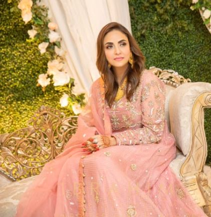 Exclusive Valima Pictures And Videos Of Nadia Khan