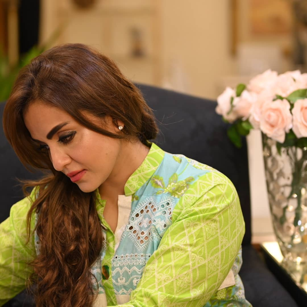 Nadia Khan with her Husband - Beautiful Latest Pictures