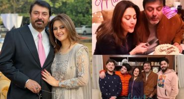Nauman Ijaz Celebrates 26th Wedding Anniversary