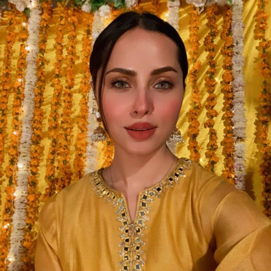 Actress Nimra Khan Spotted at Friends Wedding Event