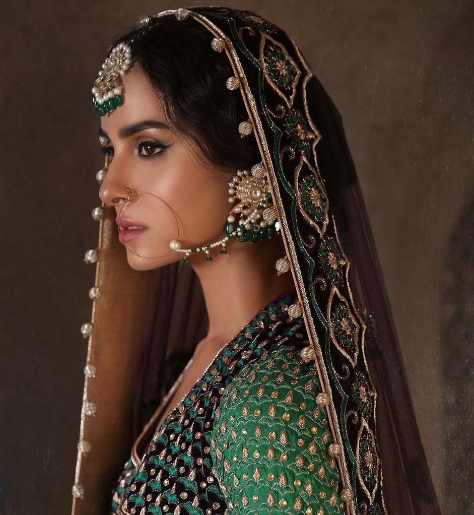 Nimra Khan Photos in Beautiful Anarkali Angrakha