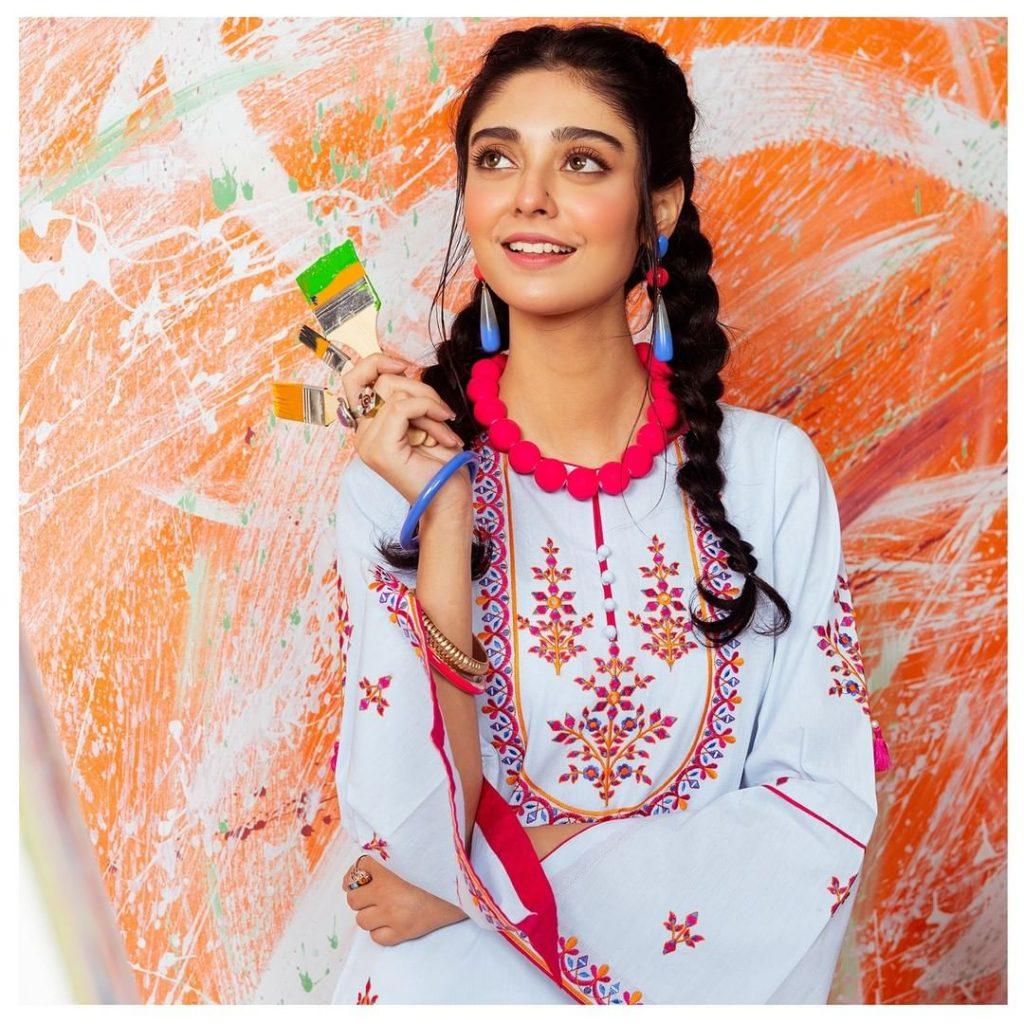 Noor Zafar Khan Featured In Zellbury Winter Collection