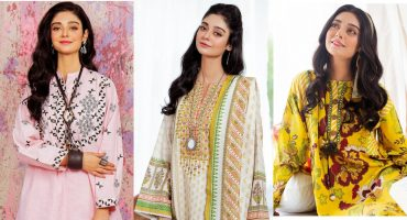 Noor Zafar Khan Featured In Zellbury Winter Collection