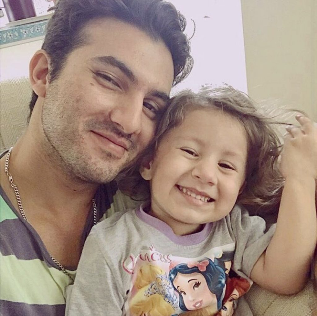 Nooreh Shahroz Having Fun Time With Her Father
