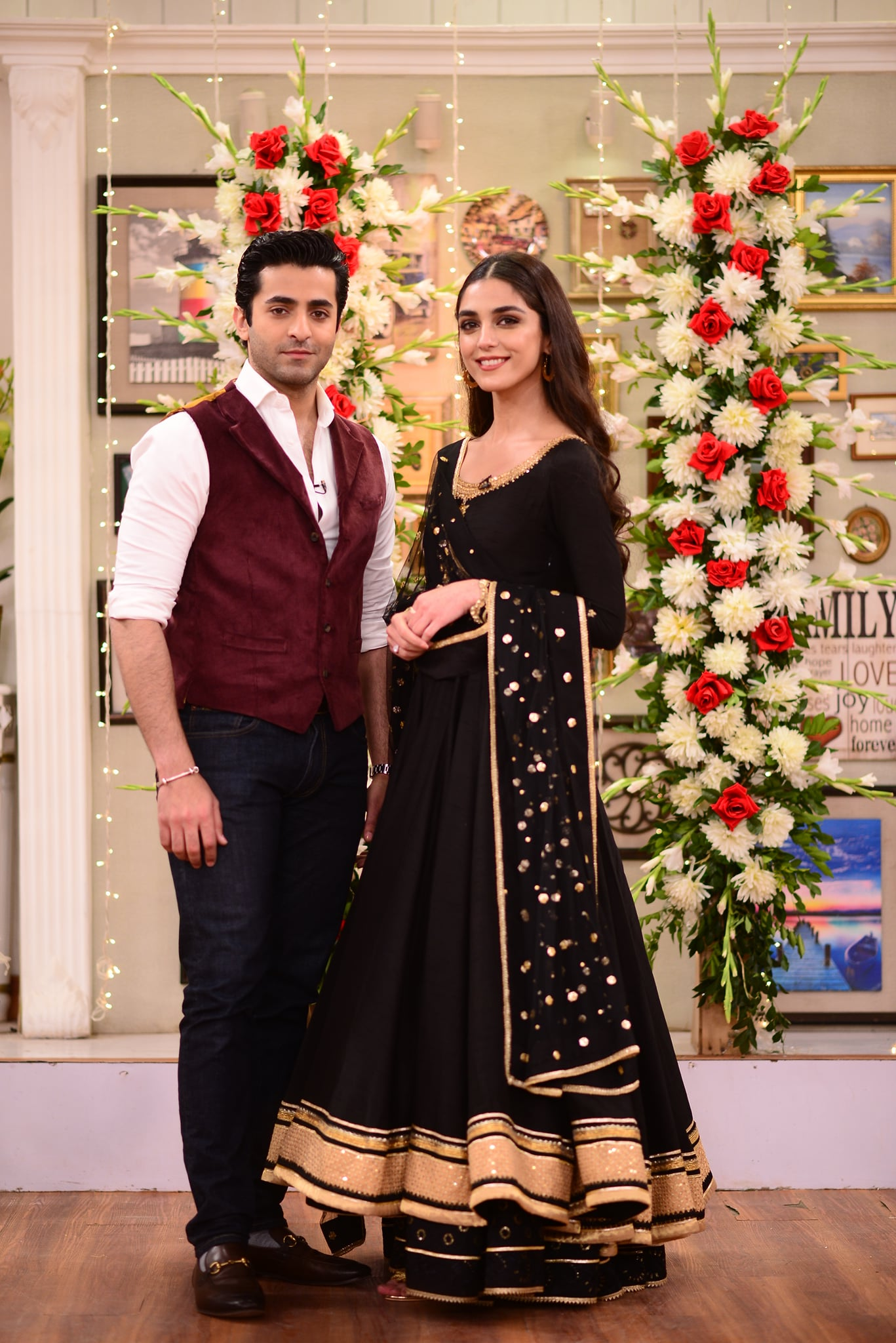 Beautiful Clicks of Cast of Drama Pehli Si Mohabbat in Good Morning Pakistan Show