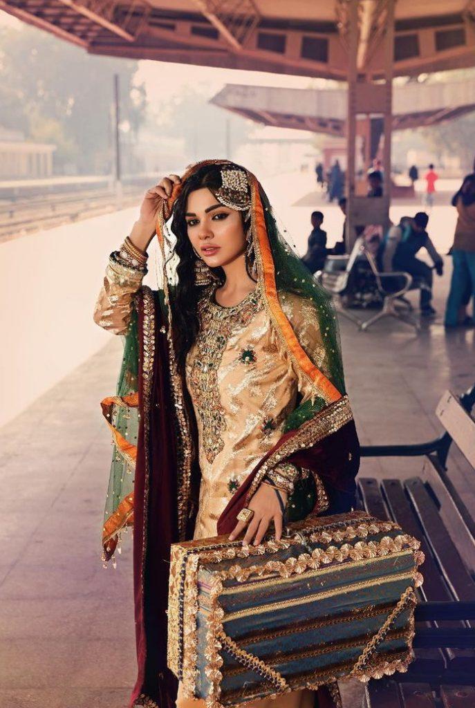 Sara Loren Beautiful Luxury Pret Shoot For Brand