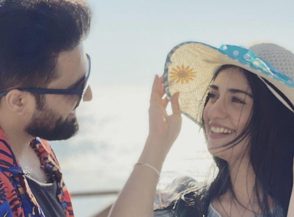 Falak Shabir Shares Selfies With Sarah Khan