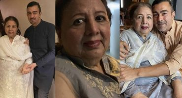 Shaan Shahid Lost His Beloved Mother Neelo Begum