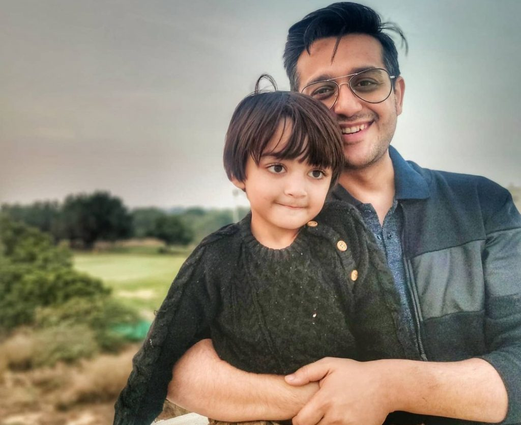Shafaat Ali Family pictures