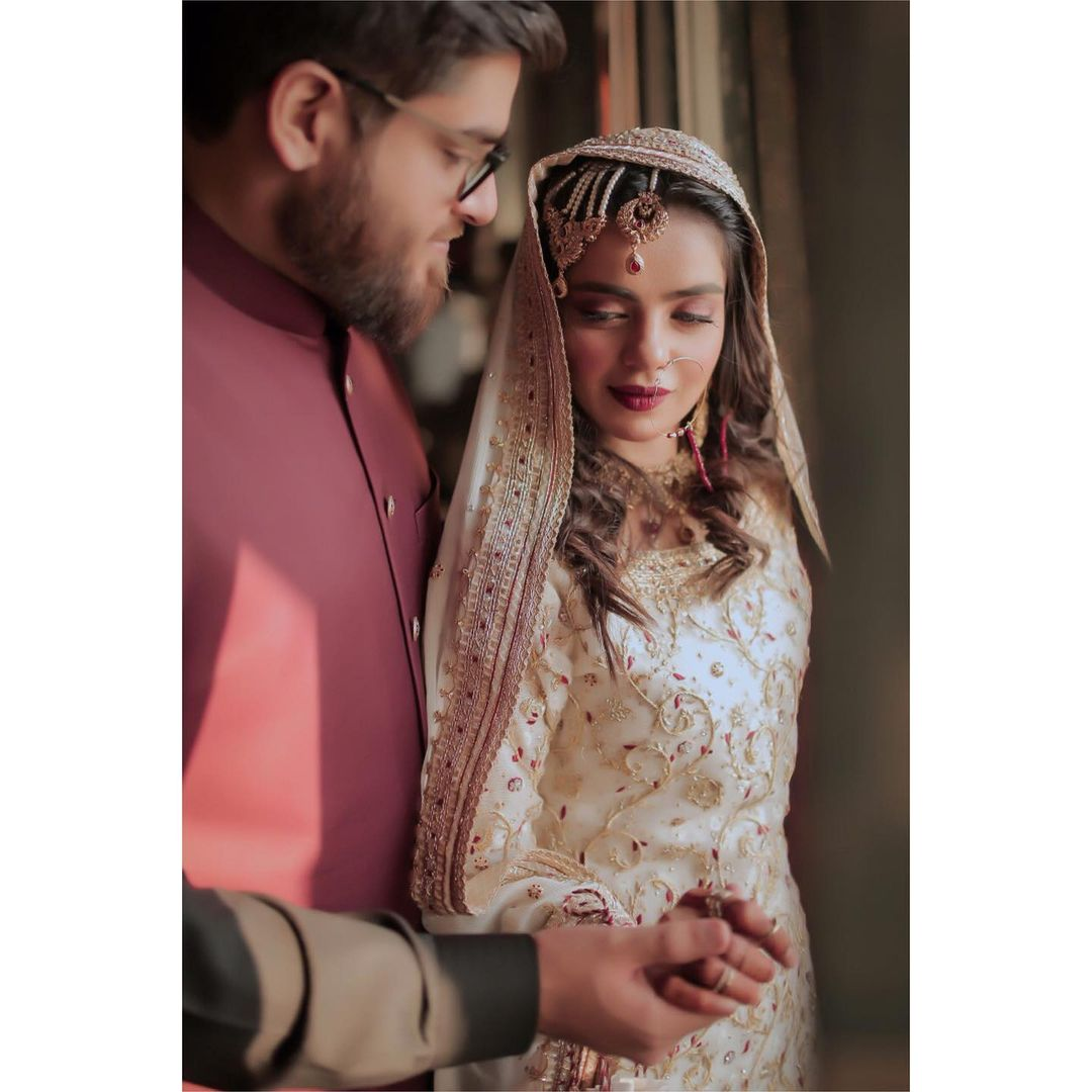 Actress Srha Asghar Beautiful Wedding Photoshoot