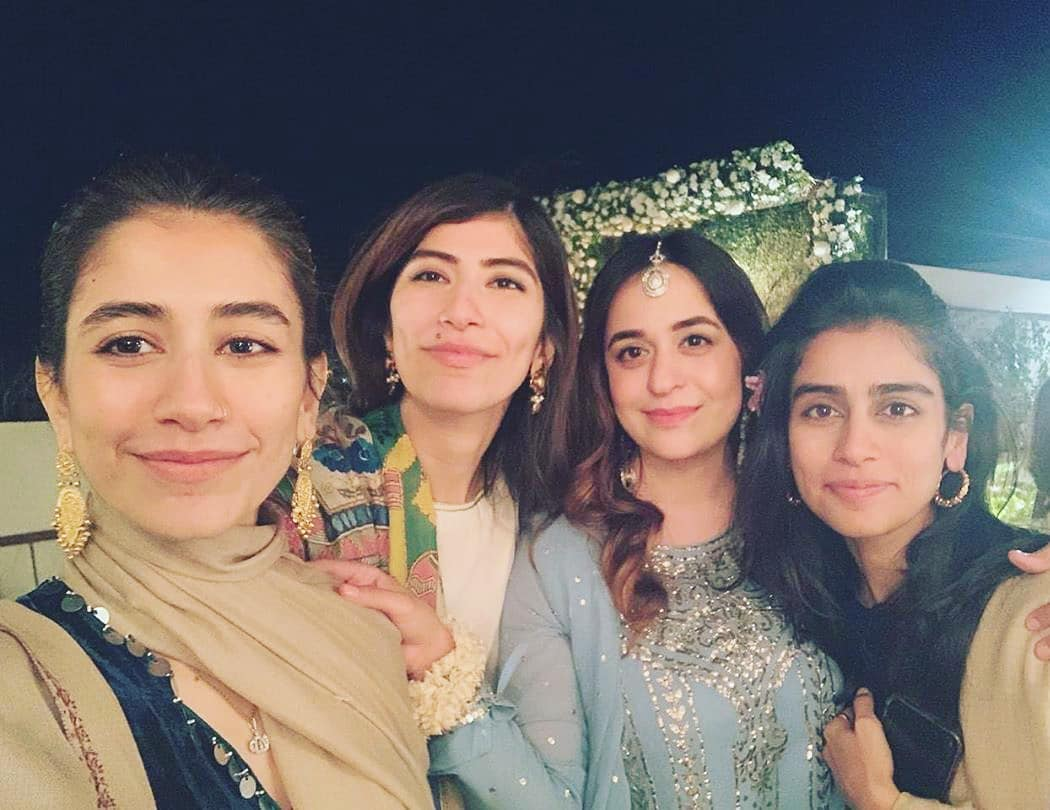 Latest Pictures of Syra Yousaf from her Friend's Wedding