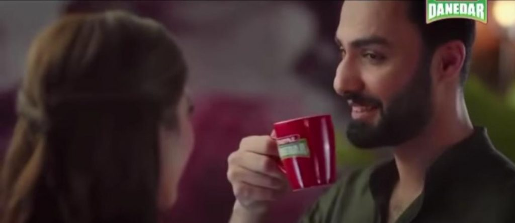 Syra Yousuf And Ahmed Ali Akbar In Latest TVC